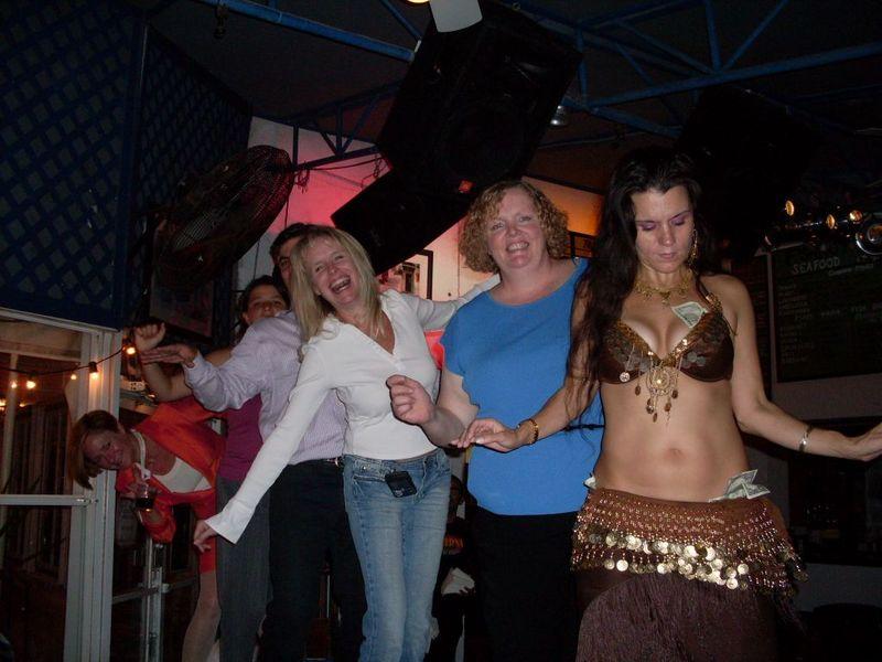Alise Jeff Fyla Kristen Kim Greek Dancer ERE Fall 2008